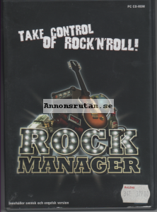 Rock Manager - PC CD-ROM