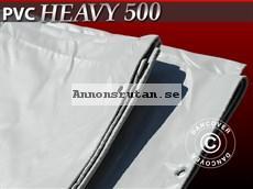 Presenning 6 x 10 m PVC 500 g/m² Grå Nu! 2947:-