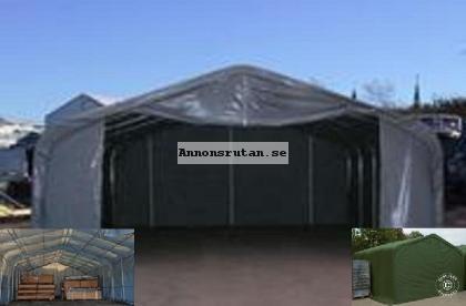 Lagertält PRO 6,0 x 6,0 x 3,7 PVC Grå 14510:-
