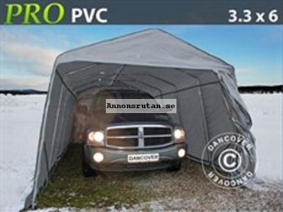 Garagetält PRO 3,3 x 6,0 x 2,4 m PVC 5596:-