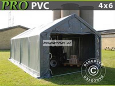Lagertält  PRO 4 x 6 x 2 x 3,1 m PVC 8745:-