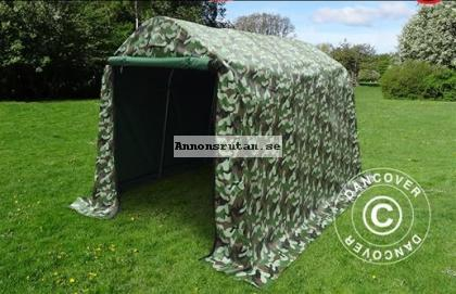 Lagertält 2,0 x 3,0 x 2,0 m PVC Kamouflage  Nu! 2940:-