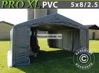 Lagertält  PRO 5 x 8 x 2,5 x 3,89 m XL 500 g/m² PVC